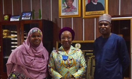 HMS congratulates Dr. Yerima on his new appointment as Permanent Secretary