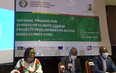 ECOWAS Facilitates the Development of Climate Change Projects in Nigeria