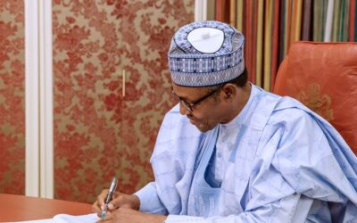 PRESIDENT BUHARI APPROVES THE REVISED NATIONAL CLIMATE CHANGE POLICY FOR NIGERIA